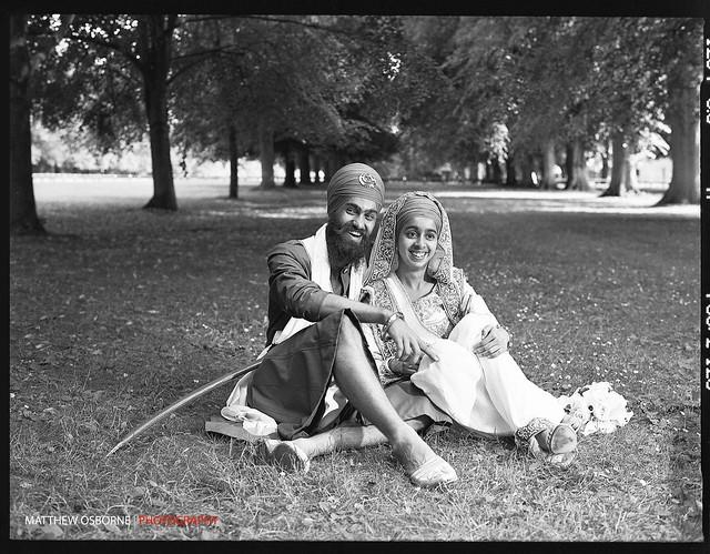 Contax 645 B&W Wedding Photography