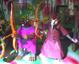 TEENAGE MUTANT NINJA TURTLES - CLASSIC COLLECTION :: 'RETRO' SPLINTER xxv // .. with '12 Nickelodeon Splinter (( 2013 ))