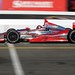 Sebastien Bourdais on track during the open test at Sonoma