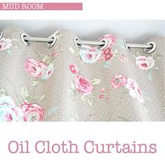 Oil Cloth Curtains