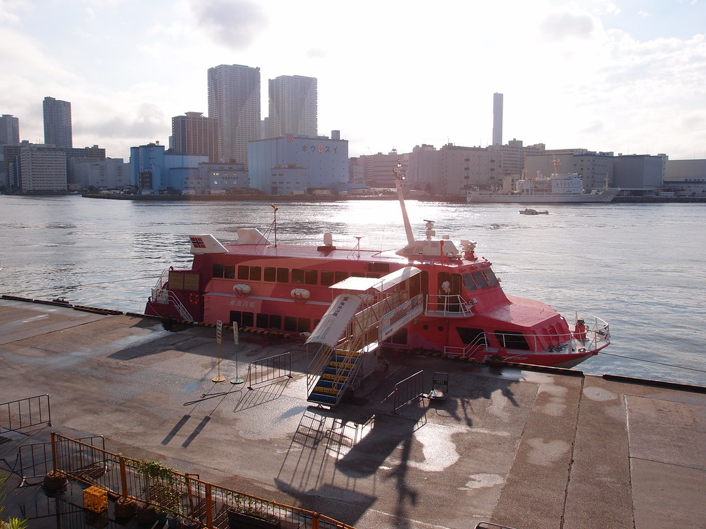 Tokaikisen High-Speed Jet Ferry @ Takeshiba Pier