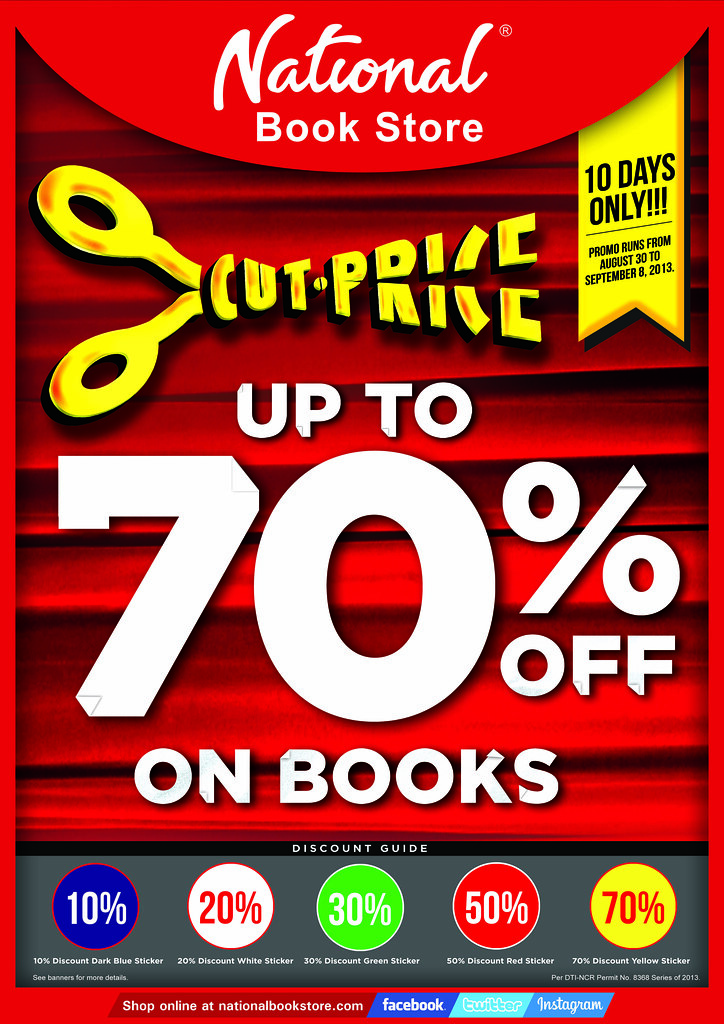 National bookstore sale