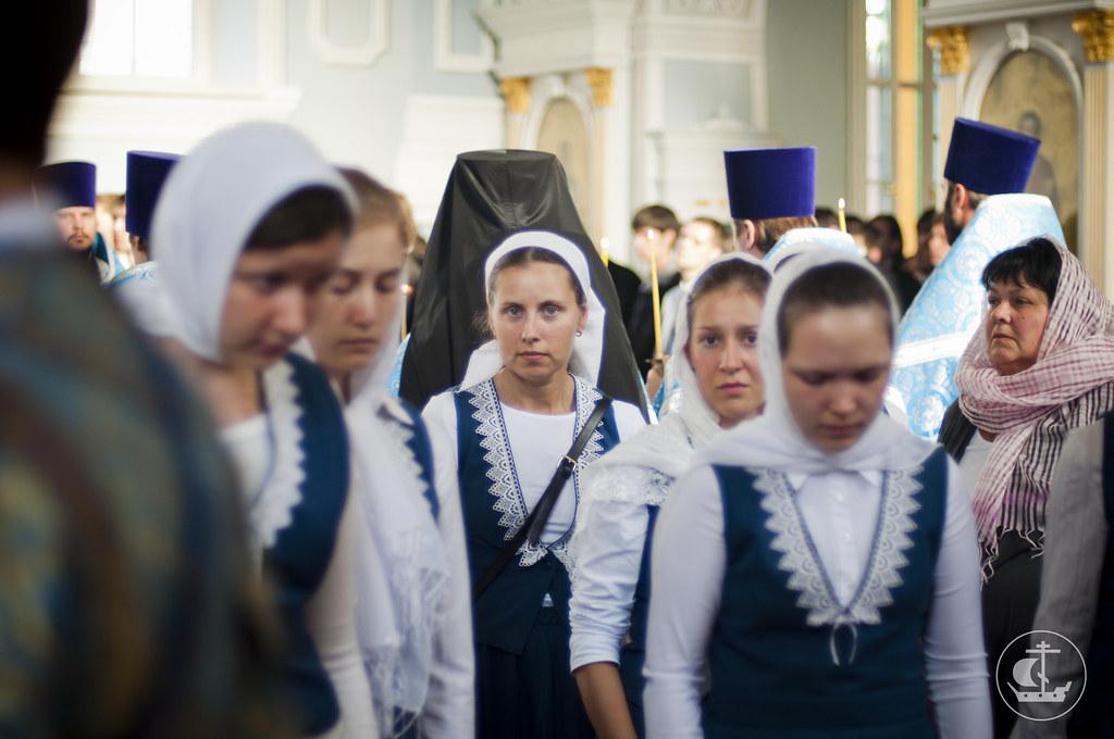 31 августа 2013, Всенощное бдение в Седмицу 10-ю по Пятидесятнице
