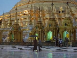 Shwedagon evening