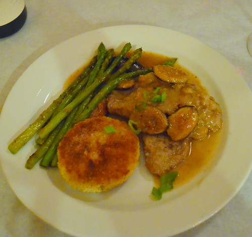 Veal Scallopini with Fresh Fig Sauce