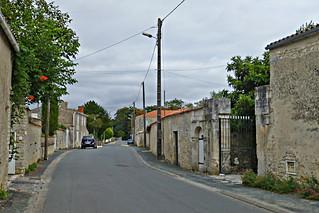 Nieul s/ mer: rue de l'Océan