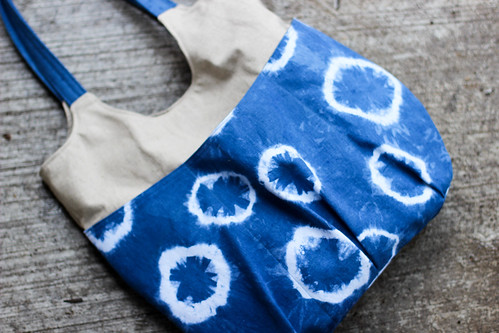 Indigo Go Anywhere Bag by Jeni Baker