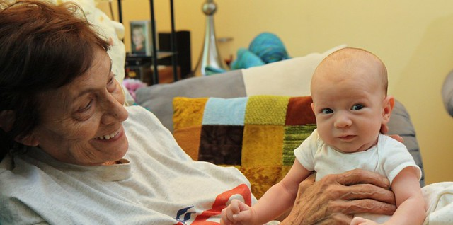 Grandma and Griffin