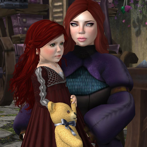 The Sorceress and daughter