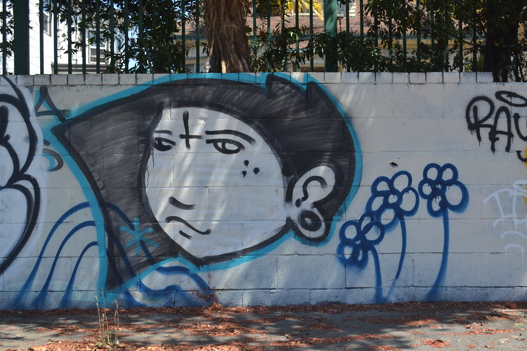 FREYA, VRS, Graffiti, Street Art, Oakland,