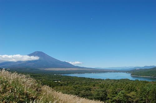 ★秋の日の富士山★三国峠、山中湖から…