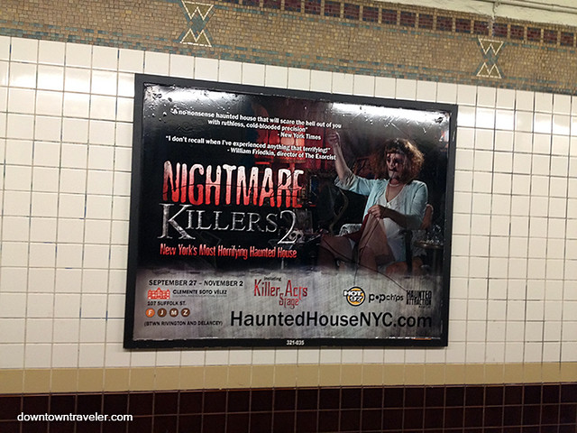 2013 Nightmare Haunted House poster
