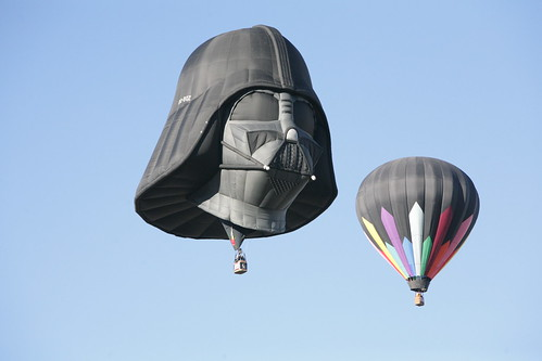 Darth Vader at Balloon Fiesta 2013 006
