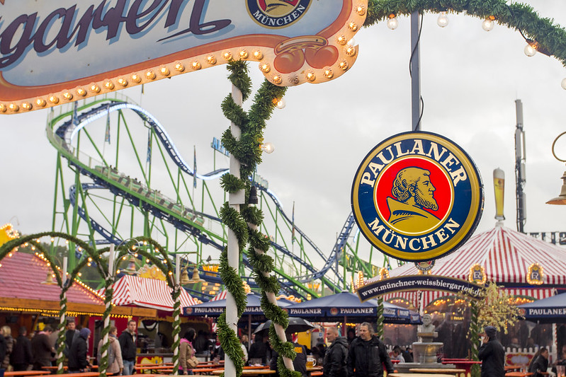 The Paulaner Tent - Oktoberfest 2013