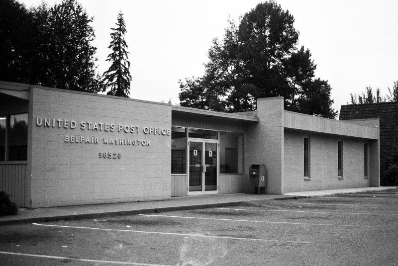 Belfair, WA post office | Mason County  Photo by J Gallagher