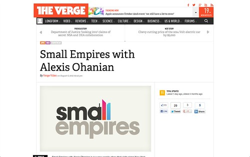The Verge | Small Empires