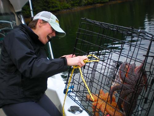 """Crabbing"" in Ketchikan, Alaska"