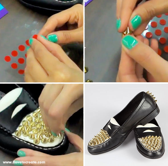 How to make Hardcoe Style Loafers
