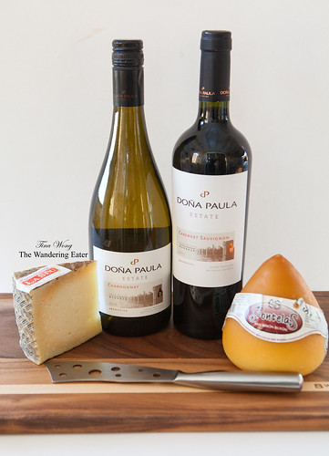 Doña Paula Estate Chardonnay and Cabernet Sauvignon wines