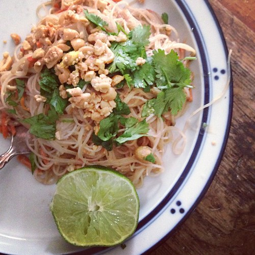 Pad Thai  a la The Chew