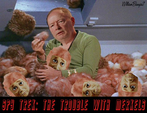 SCAN TREK- THE TROUBLE WITH MERKELS by WilliamBanzai7/Colonel Flick