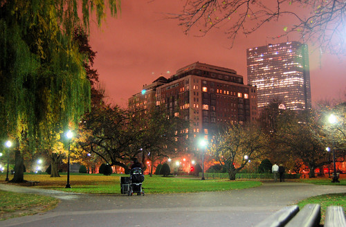 Boston from the Public Garden (by: Chris Devers, creative commons)