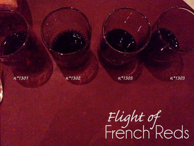 Flight of Red Wines from rise n°1 Dallas