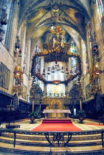 The Main Altar of La Seu