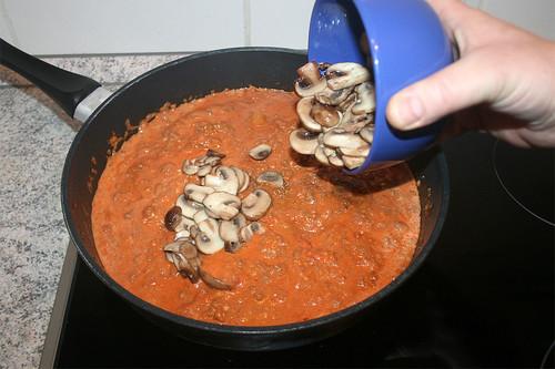 30 - Champignons hinzufügen / Add mushrooms