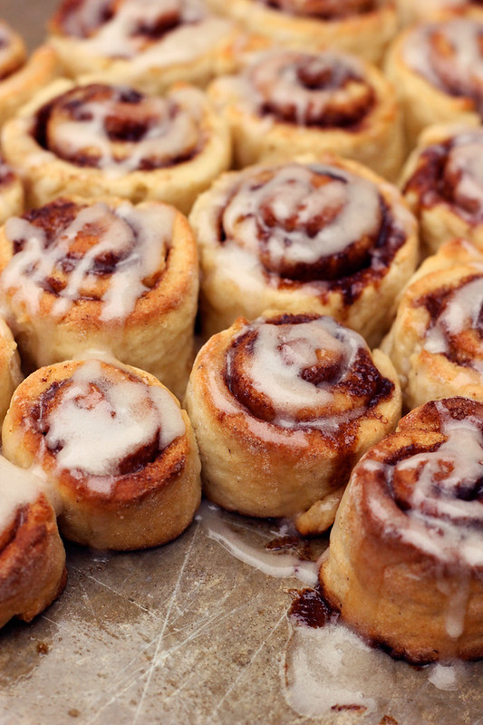 Gluten-free Cinnamon Rolls (w/ Dairy-free option)