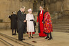 Queen visits Parliament to view the Diamond Jubilee window