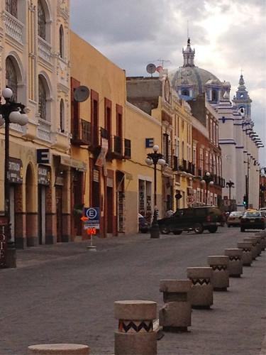 Puebla streetscape