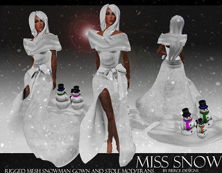 MISS SNOW BY FIERCE DESIGNS