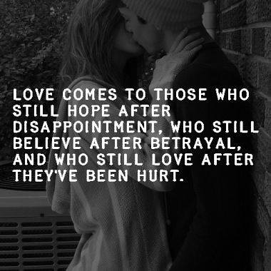 how to love again after being hurt quotes
