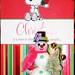 Snoopy card & Kelbug(tm) snowman by CheshireCat666