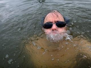 Bubbling Selfie