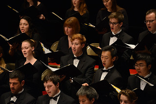 The Pomona College Choir in concert