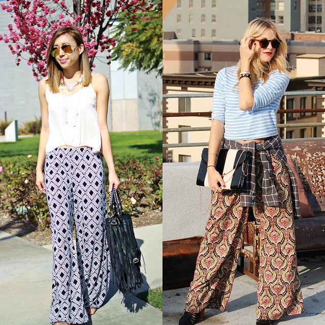 lucky magazine contributor,fashion blogger,lovefashionlivelife,joann doan,style blogger,stylist,what i wore,my style,fashion diaries,outfit,wardrobe,palazzo pants,style challenge,los angeles,la bloggers,lulule jewels,charlotte russe,zerouv sunglasses,fringe,short hair