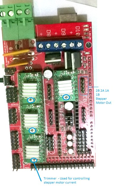 Wiring RAMPS Electronics for RepRap Prusa i3
