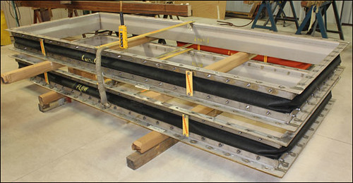 11' Fabric Expansion Joints Designed for a Gas Turbine Exhaust