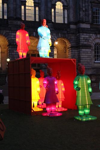 Terracotta warriors lanterns edinburgh