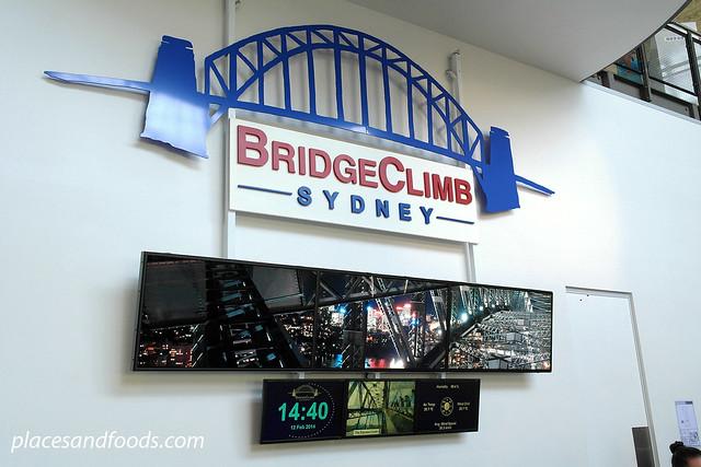 sydney harbour bridge counter