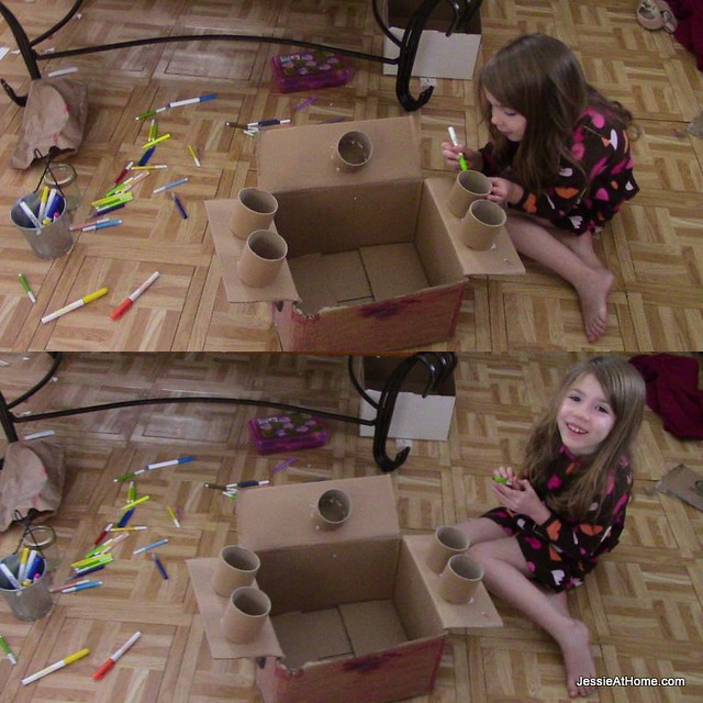 Kyla-making-a-car