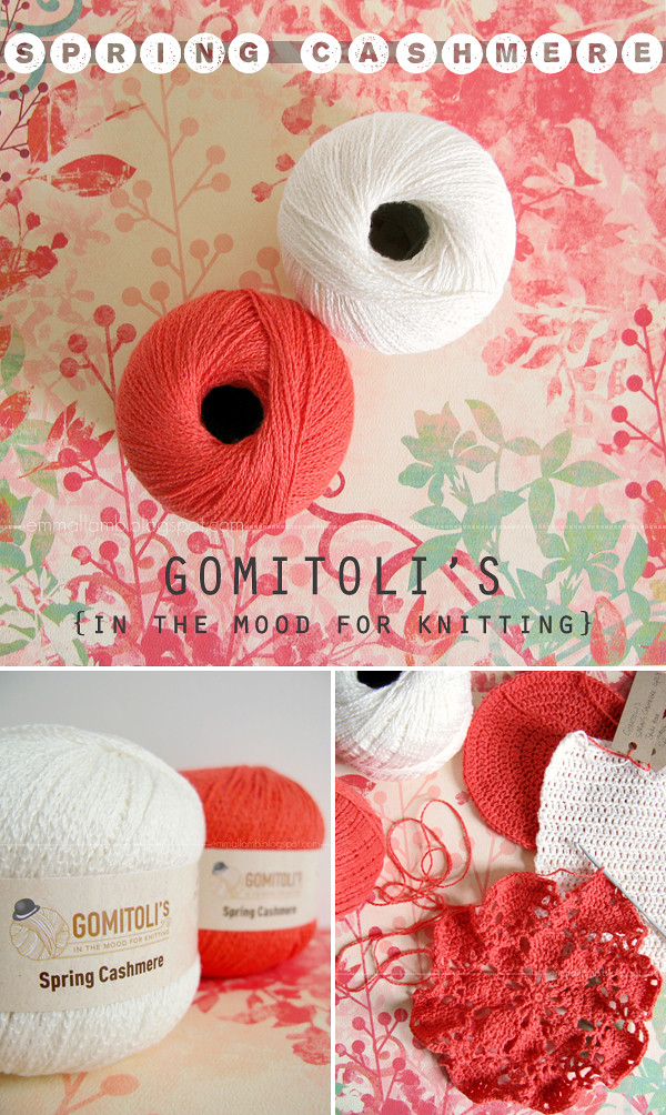Spring Cashmere yarn by Gomitoli's in the mood for knitting | reviewed by Emma Lamb