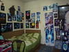 The room of the artist Corina Chirila from Bucharest Romania