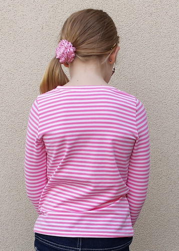 Crafty Mamas May-Belle Tee (with straightened sleeve)