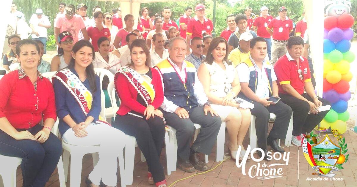 Inauguraron jornadas deportivas y culturales 2017 GADM Chone