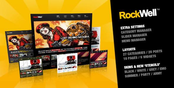 RockWell v2.7 - Portfolio & Blog WordPress Theme