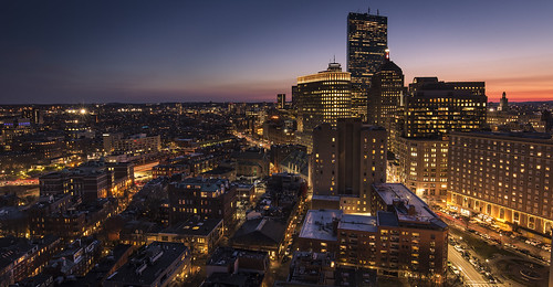 boston cityscape usa america sunset bluehour skyline skyscraper lights city colour vibrant building architecture urban longexposure hdr hotel canon 6d ef1635f4
