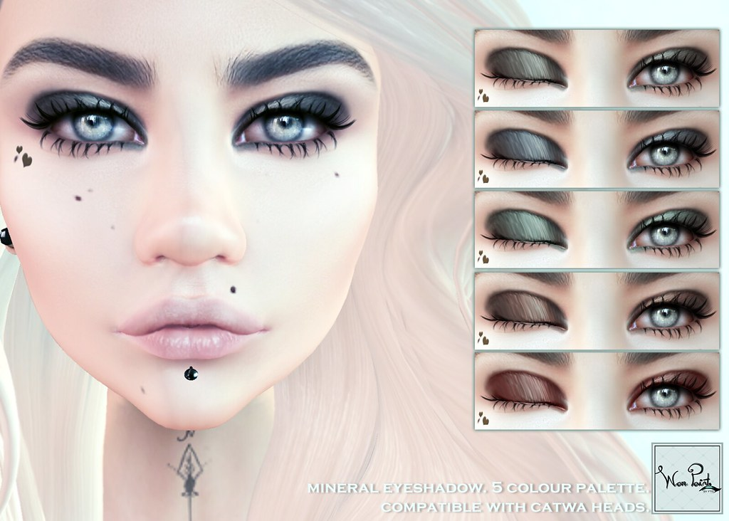 WarPaint @ The Coven - Mineral eyeshadow - SecondLifeHub.com